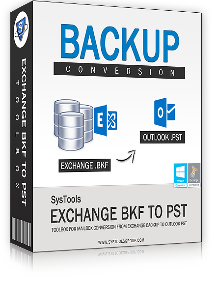 Exchange BKF to PST Converter